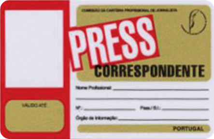 Foreign Correspondent ID Card
